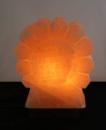 Хималайска сол - декоративна лампа