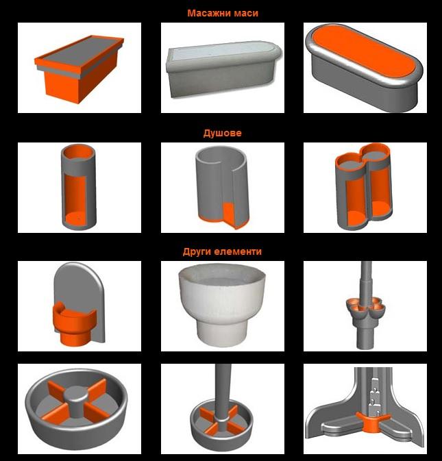 конструкции, модули и материали