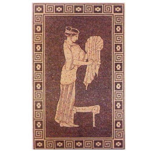 Стъклокерамично пано антично
