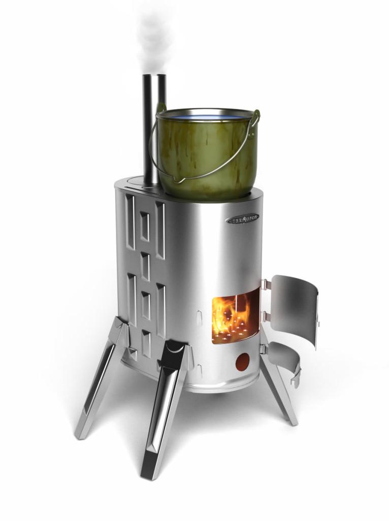 Преносима готварска печка
